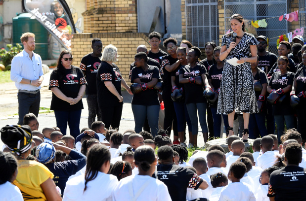 Prince Harry and Meghan in South Africa on first tour since baby's birth