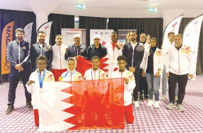 <p>The Interior Ministry team excelled in the second USIP World Police Games Milan 2019, clinching two gold medals, one silver and one bronze on the first day of competitions.&nbsp;The championship, which opened last Wednesday, is scheduled to conclude on Thursday. The delegation from Bahrain includes 32 members competing in shooting, judo, athletics and jiu-jitsu.</p>