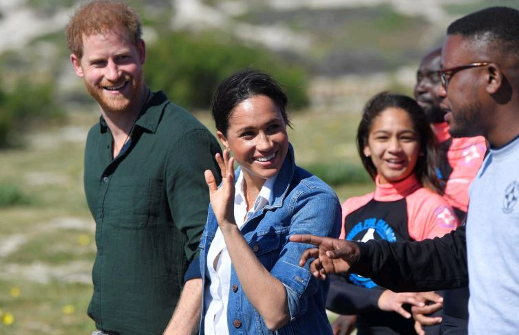 British royals to visit Cape Town beach used for therapy