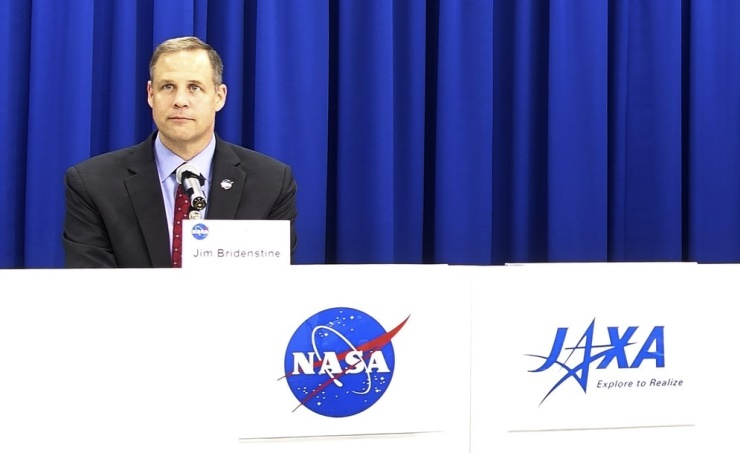 NASA chief says security needed to explore space safely