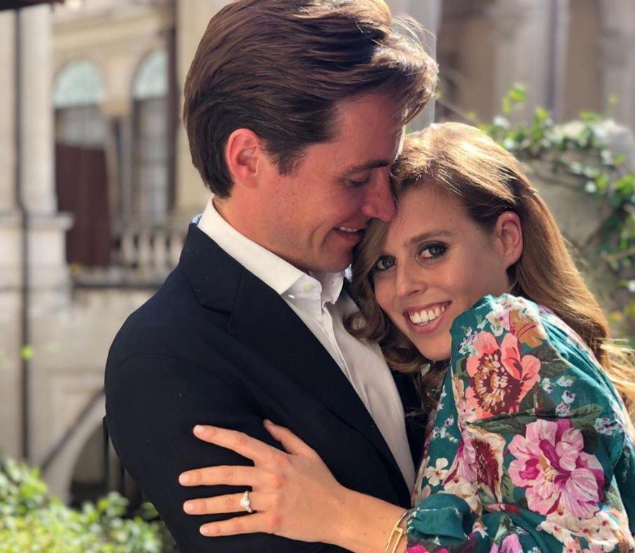 Britain's Princess Beatrice announces engagement