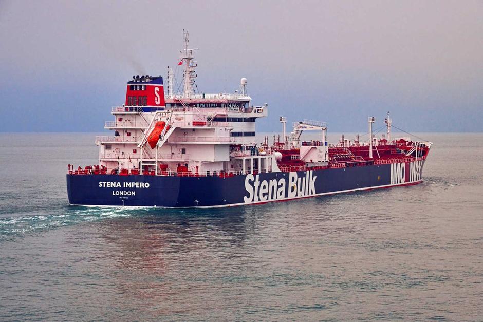 UK tanker Stena Impero 'should reach international waters in coming hours'