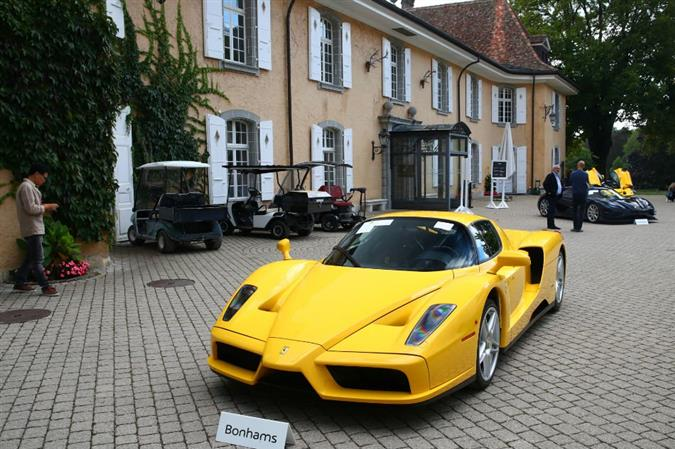 Supercars of Obiang son on the block at Swiss auction