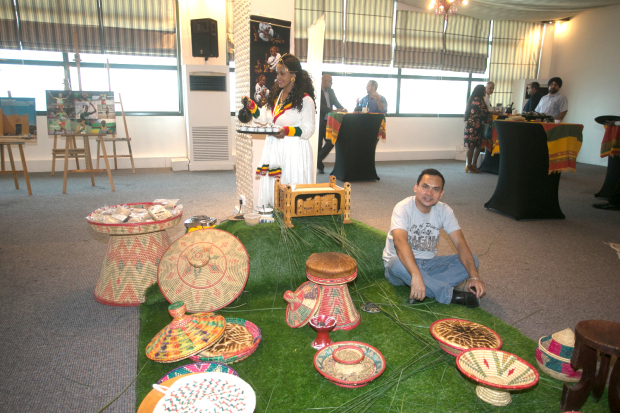 <p>Ethiopian made items on display at the event.</p>