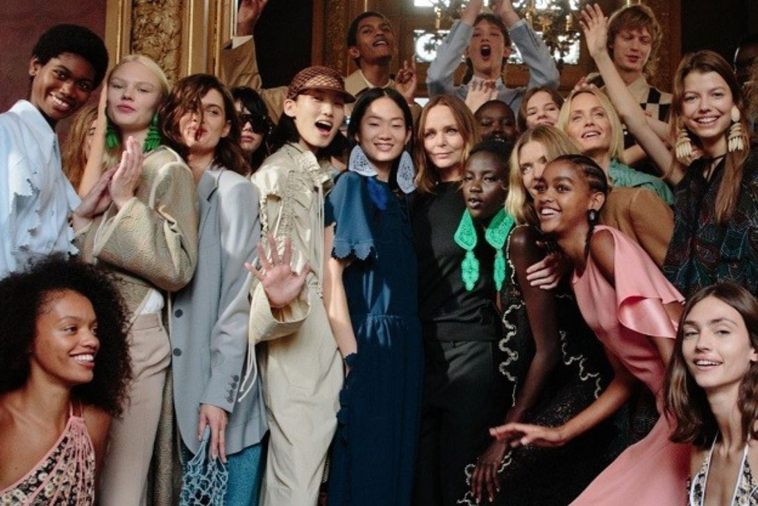Sustainable fashion to the fore at Stella McCartney's Paris show