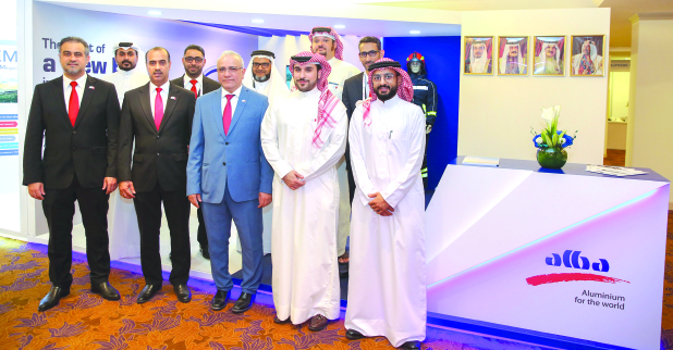 """<p>Alba, one of Bahrain's leading champions on safety, was a key participant of the 7th edition of Global HSE Conference and Exhibition 2019 being held at the Gulf Hotel, Bahrain. Oil Minister Shaikh Mohammed bin Khalifa Al Khalifa inaugurated the event, held under the theme """"Efficiency, Resilience and Sustainability"""". Alba's acting chief executive Ali Al Baqali and director of safety, health and environment Mohammed Khalil Saeed welcomed the minister at the Alba stand.</p>"""