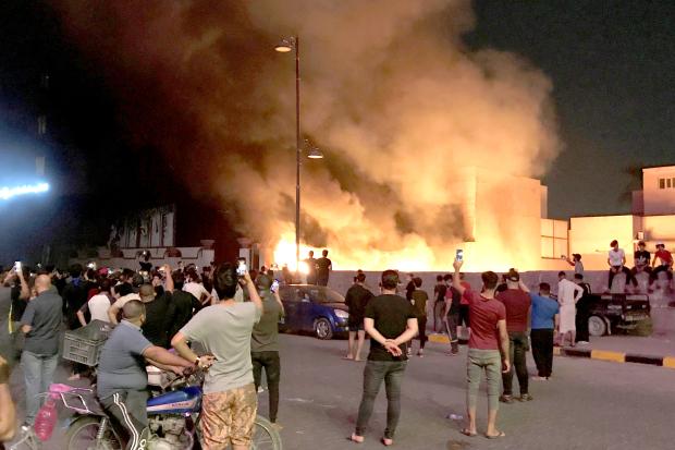 Gunfights rage in Iraq