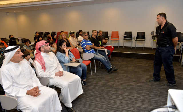 <p>A lecture themed 'Karate Man's Long-term Development' was held at the Bahrain National Stadium's press centre. The Bahrain Karate Federation held the lecture in co-operation with the Bahrain Olympic Committee Olympic Academy. Federation chairman Fares Ghazi Al Gosaibi, instructors, members of clubs and trainining centres, sportsmen and their parents attended the lecture.</p>