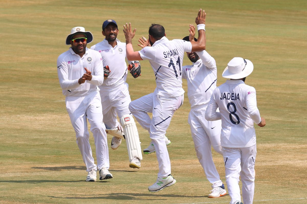 Shami, Jadeja bowl India to 203-run win over South Africa