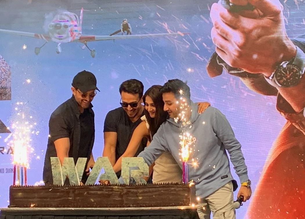In Pictures: Hrithik Roshan, Vaani Kapoor and Tiger Shroff celebrate 'War' movie success