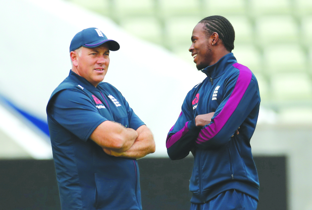 Silverwood replaces Bayliss as England head coach