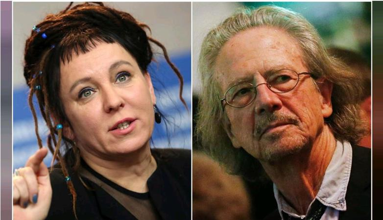 Tokarczuk and Handke win Nobel literature prizes