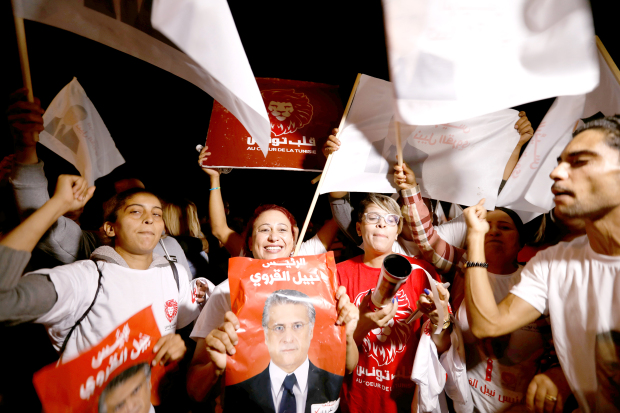 Tunisian presidential hopeful released days before election