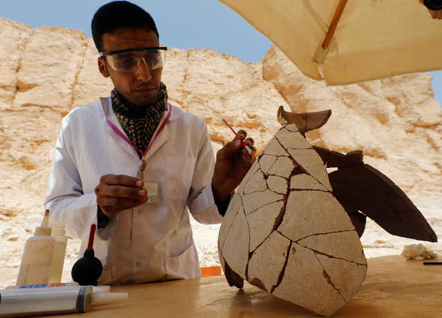 Egypt discovers archaeological industrial zone in Luxor's 'Valley of the Monkeys'