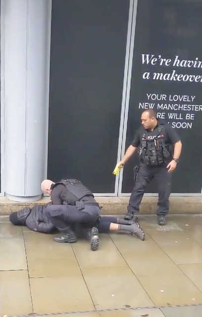 Man arrested after four wounded in stabbings at UK mall