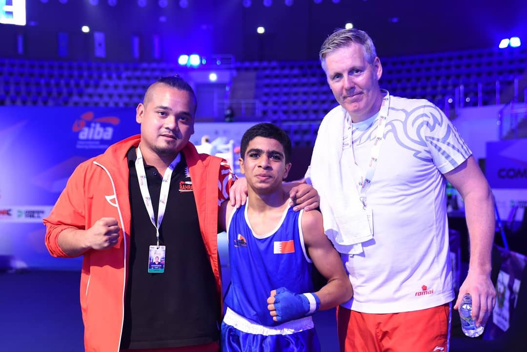 'Historical success' as young fighter records Bahrain's first international boxing win