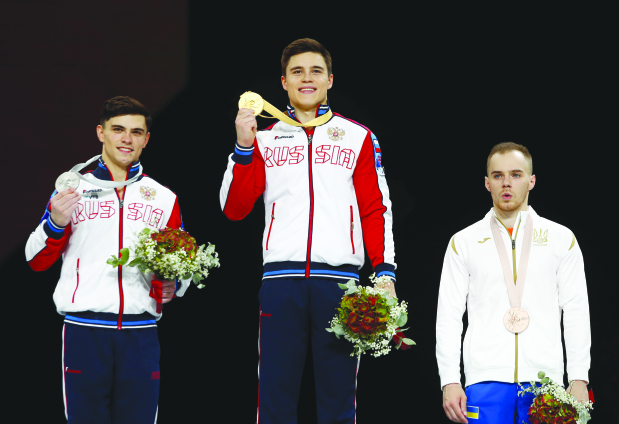 Nagornyy clinches all-round title