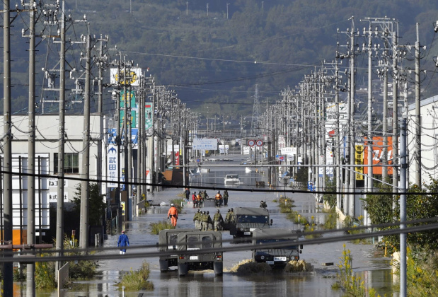 Japan sends in thousands of troops after massive typhoon hammers Tokyo