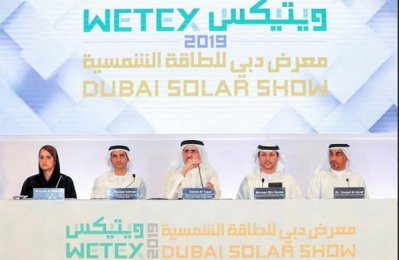 Wetex, Dubai Solar Show to feature 2,350 exhibitors