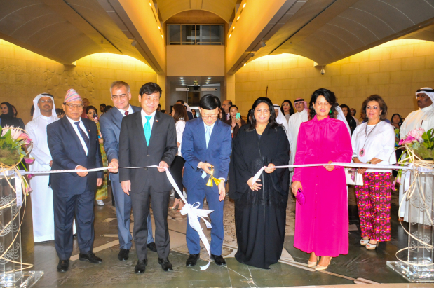 <p><em>Japanese Ambassador Hideki Ito cuts the ribbon to open the exhibition in the presence of dignitaries and guests.</em></p> <p>The Japanese tradition of making dolls was highlighted in a unique exhibition that opened at Bahrain National Museum last night.</p> <p>Known as the &lsquo;Kingdom of Dolls&rsquo;, Japan enjoys a rich culture of dolls where each has its own meaning, purpose and is deeply connected to daily life.</p> <p>The exhibition features a distinguished selection of fine dolls including traditional performing arts, regional and creative dolls. It will be open to the public until November 13.</p>