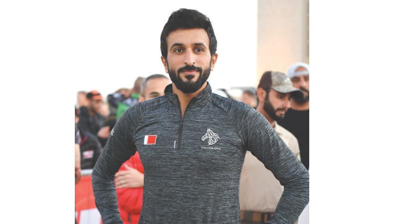 Shaikh Nasser hails Gulf Air support for Ironman