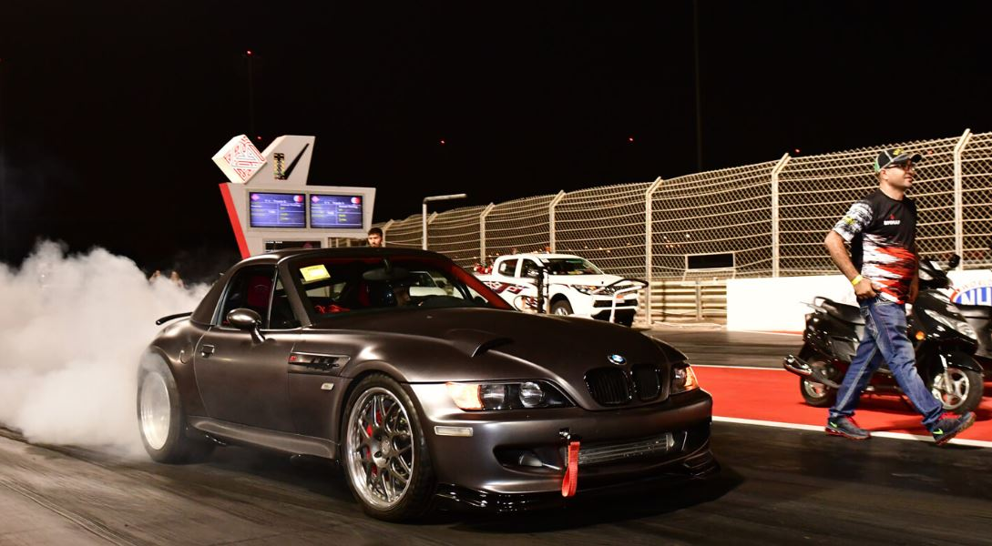 Stage set for Kanoo Drag and Drift Night