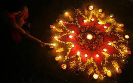 Diwali celebrations at Crowne Plaza
