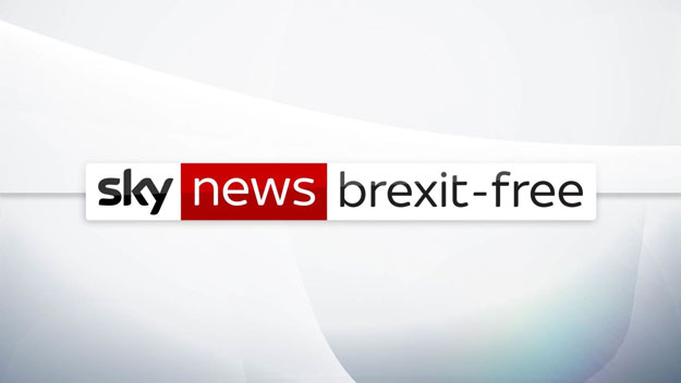 Bored by Brexit? British TV starts Brexit-free news channel