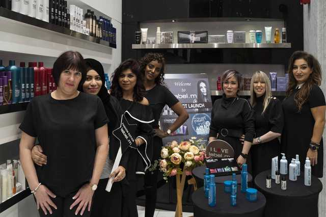 <p>A new line of products was launched yesterday by Toni and Guy during an event held at its store in City Centre Bahrain.</p> <p>The new label.m products are prescribed by professional hairdressers and is also available at the outlet located in Seef Mall.</p> <p>Present during the event were officials from Joz Group that operates the franchise for the most prestigious in the hair dressing industry.</p> <p>Above, the new line of products being launched yesterday at the Toni and Guy store in City Centre Bahrain.</p>