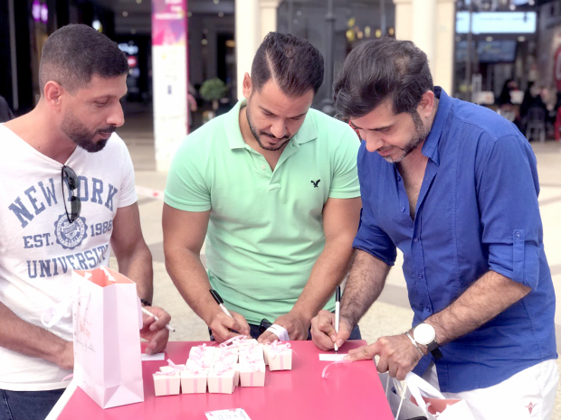 Breast cancer awareness campaign held at mall