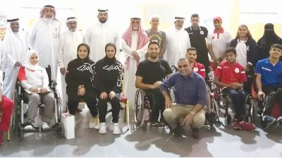<p>The national Paralympic team members attended a five-day training camp organised by the<br />Bahrain Paralympic Committee in cooperation with the Bahrain Sports Federation for Disabilities.<br />Bahrain Paralympic Committee secretary-general Ali Al Majid said the camp was part of the<br />committee&rsquo;s plans to prepare the national team for upcoming championships. Experts from Saudi<br />Arabia conducted the training camp</p>