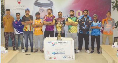 <p>The Baloch T15 League in collaboration with Cricket Bahrain Association held a captains meeting<br />at the Bahrain Olympic Committee. It was attended by all the captains. Tournament coordinator<br />Shoaib Baloch thanked the president of CBA Saleem Elias for his support to the third edition of<br />Baloch T15 league. The draw was held and tournament dates were announced.</p>