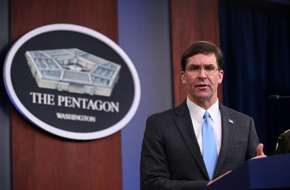 All US troops withdrawing from Syria expected to go to western Iraq says Pentagon chief