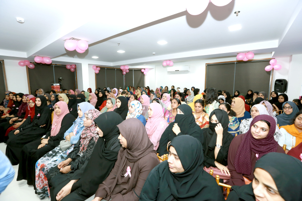 """<p>A breast cancer awareness seminar was organised by Shifa Al Jazeera Medical Centre, in collaboration with KMCC Bahrain Ladies Wing. It was inaugurated by oncologist and assistant professor of the Regional Cancer Centre, Thiruvananthapuram, Kerala, Dr K R Rajeev. Also present was Shifa chief executive Habeeb Rahman and other officials. """"Timely diagnosis and availing of treatment is necessary to avoid unexpected deaths from cancer,"""" said Dr Rajeev. """"It is important to create awareness on diagnosing cancer early among the public."""" Above, guests who attended the seminar at Shifa Al Jazeera Medical Centre.</p>"""
