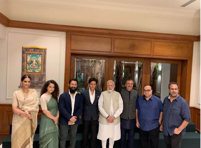 Bollywood: Indian Premier meets Bollywood stars including Aamir Khan and Shah Rukh Khan
