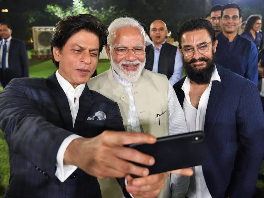 Indian Premier meets Bollywood stars including Aamir Khan and Shah Rukh Khan