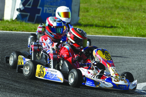 Young Luca impresses in Rotax Max Challenge