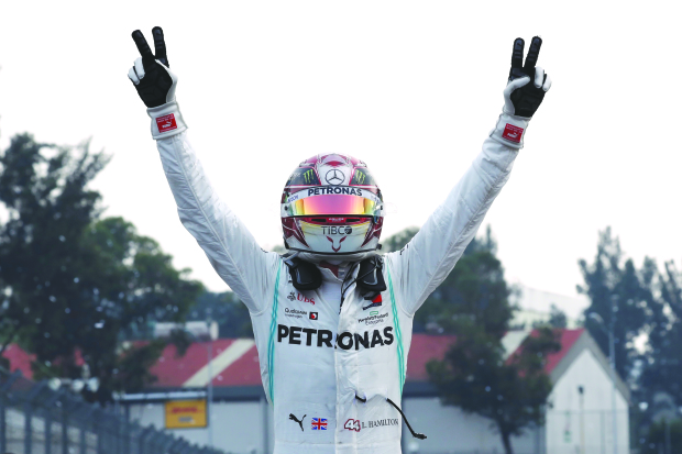 Hamilton closes in on sixth F1 title with Mexican GP victory