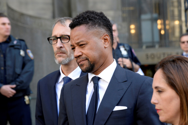 Actor Cuba Gooding Jr charged with unlawfully touching third woman
