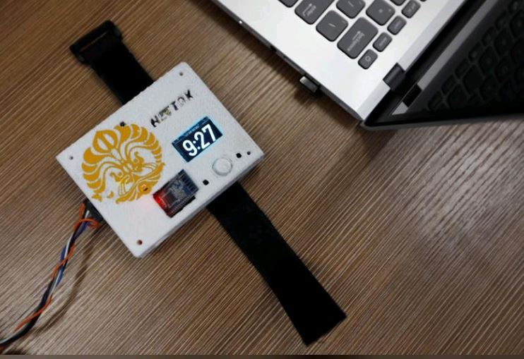 Put down that phone! Indonesians invent device to aid internet-addicted