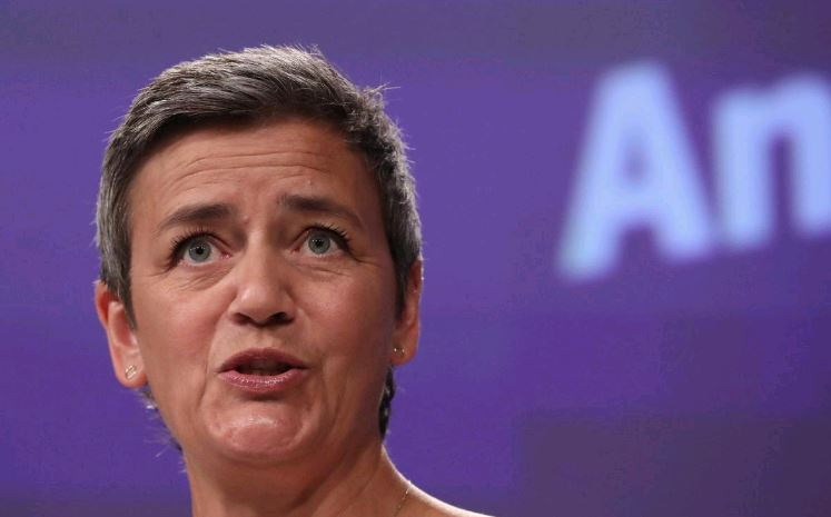 Eu's Vestager says has received many concerns regarding Apple Pay