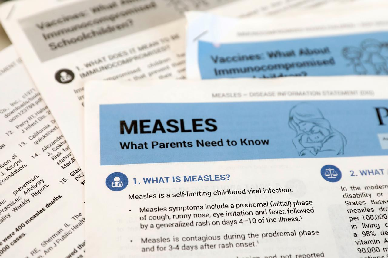 US records one new case in measles outbreak