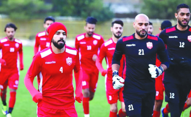 Bahrain look for victory to go top