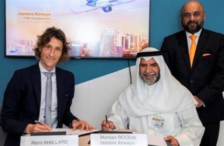 Jazeera Airways signs FHS deal with Airbus