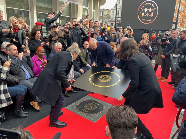 The Who are first honoured as London unveils Music Walk of Fame
