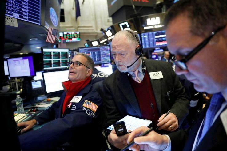 Wall Street rises with US-China trade mood, upbeat economic data