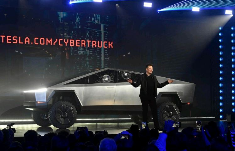 Tesla shares rise as Musk says Cybertruck orders hit 200,000