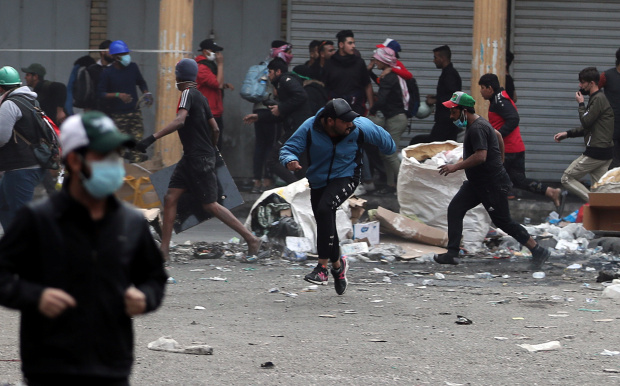 UPDATE: At least eight Iraqis killed as security forces open fire on protesters