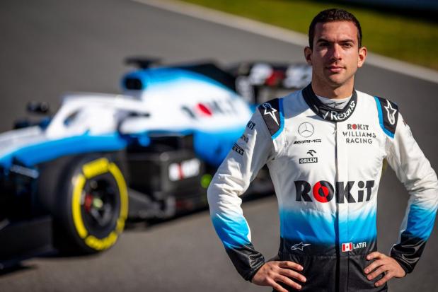 Latifi to race for Williams