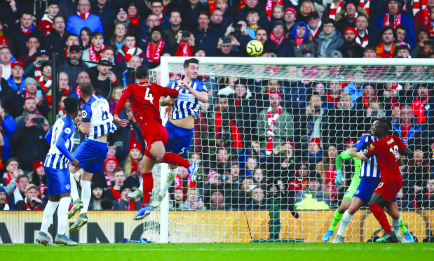Liverpool open up 11-point gap at top